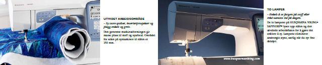 VSM Norge A/S: Husquarna Sapphire 875 Quilt
