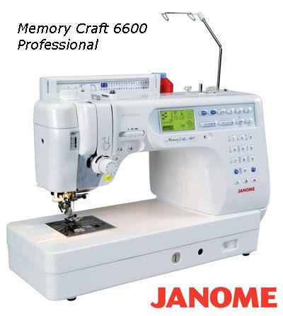 Utlodningspremie 2010 fra Janome: Memory Craft 6600 Professional