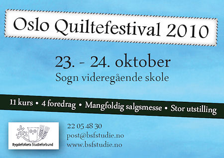 Oslo quiltefestival 2010