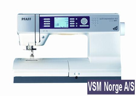 utlodningspremie fra VSM Norge a/s: Pfaff Quiltexspression 4.0
