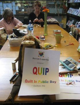 QUIP – quilt in public day