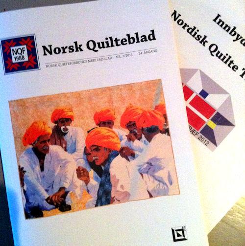 Norsk Quilteblad nr. 3 - 2011