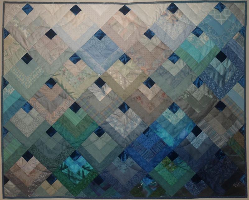 Torunn Stansberg Veslum: Havet - en symfoni i farger (125x98cm)