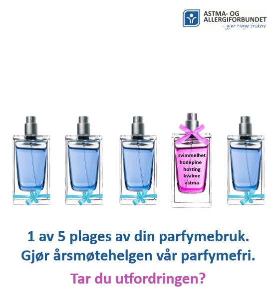 Parfymefri årsmøtehelg