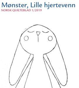 Norsk Quilteblad 1, 2019, Lille hjertevenn