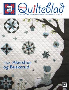 Norsk Quilteblad, nr. 1, 2016