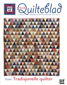 Norsk Quilteblad, nr. 1, 2017