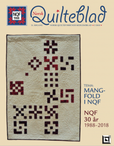 Norsk Quilteblad, nr. 3, 2018