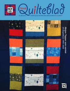 Norsk Quilteblad, nr. 2, 2020